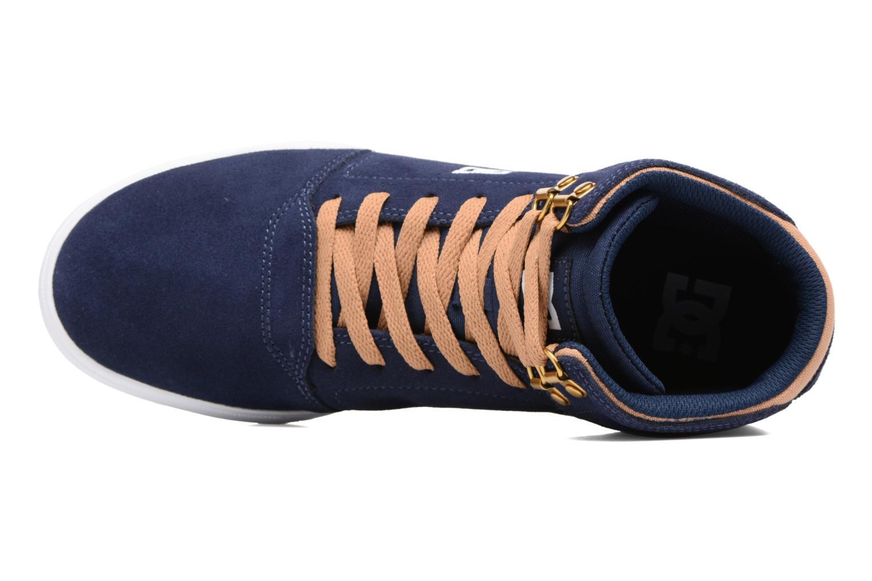 Baskets DC Shoes Crisis High Bleu vue gauche