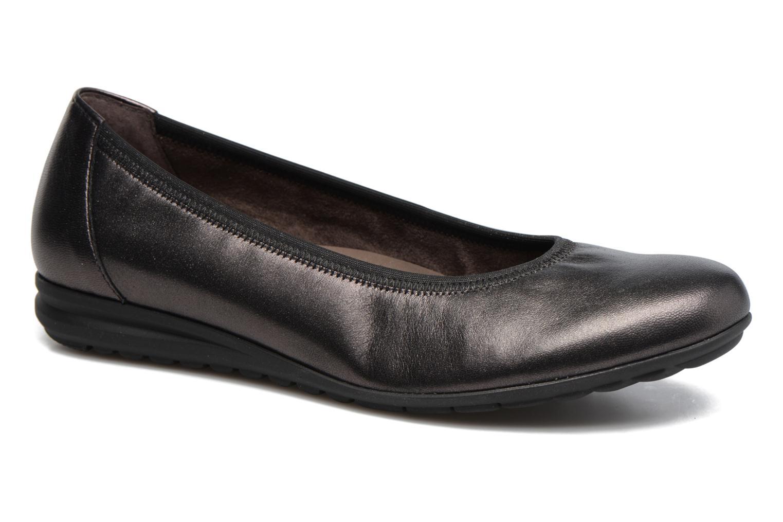 Grandes descuentos últimos zapatos Gabor Lena (Gris) - Bailarinas Descuento