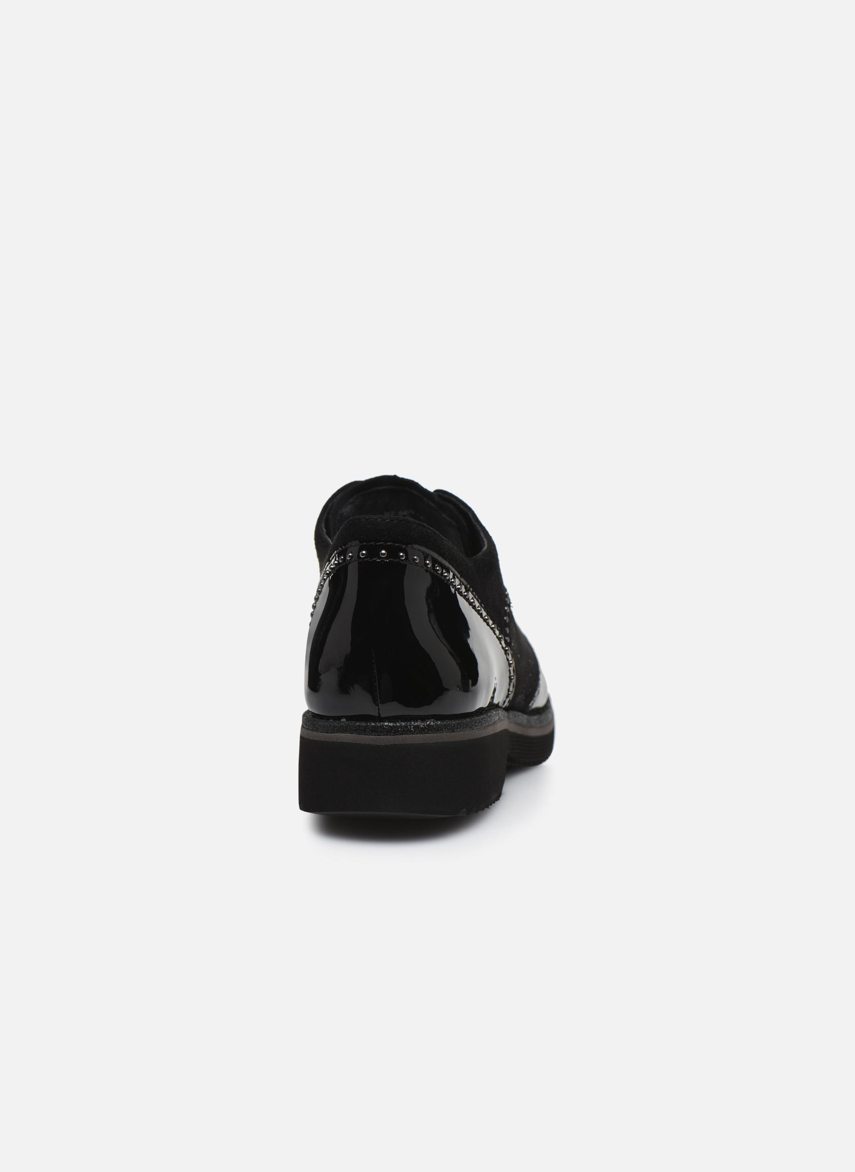 Chaussures à lacets Gabor Sara Noir vue droite