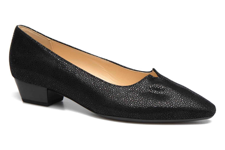 Ballerinaer Gabor Gabriellana Sort detaljeret billede af skoene