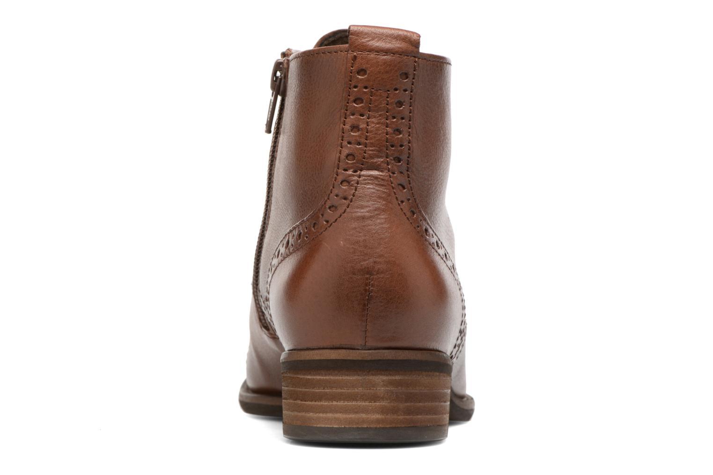 Bottines et boots Gabor Alina Marron vue droite