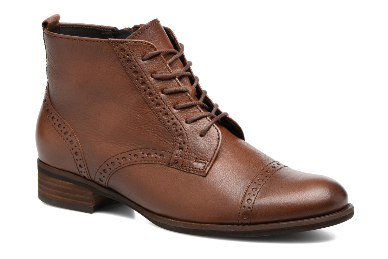 Bottines et boots Gabor Alina Marron vue détail/paire