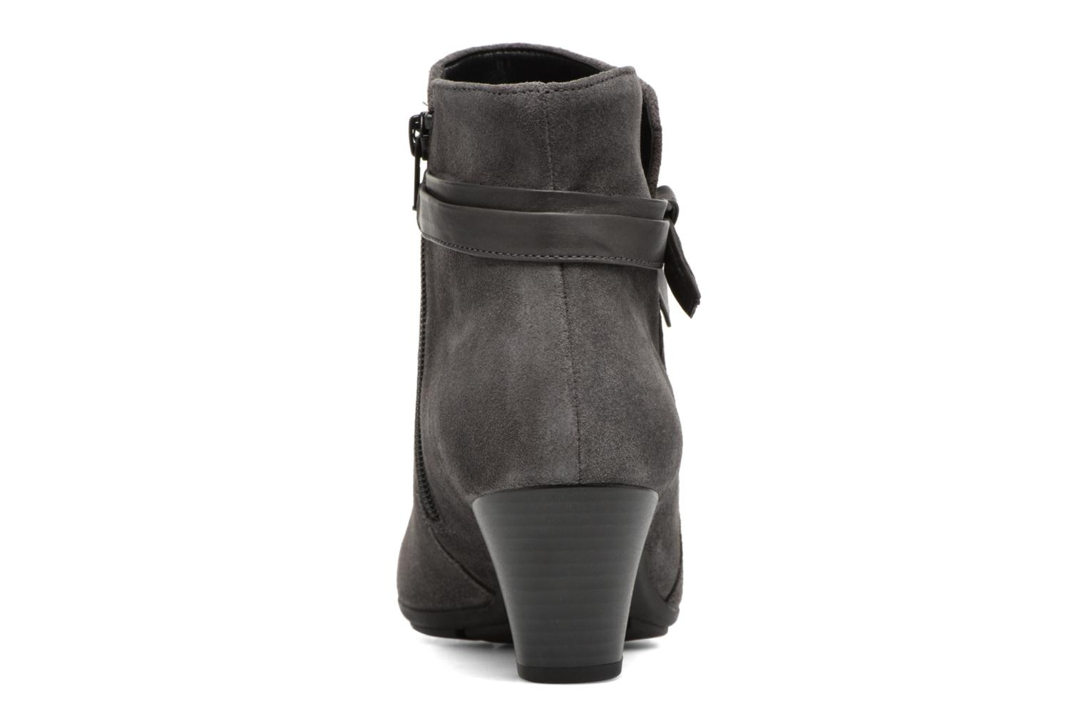 Ankle boots Gabor Anika Grey view from the right