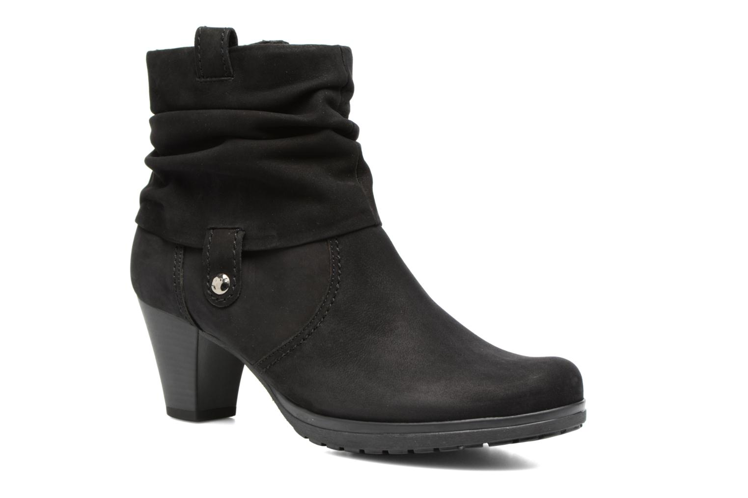 Ankle boots Gabor Celina Black detailed view/ Pair view