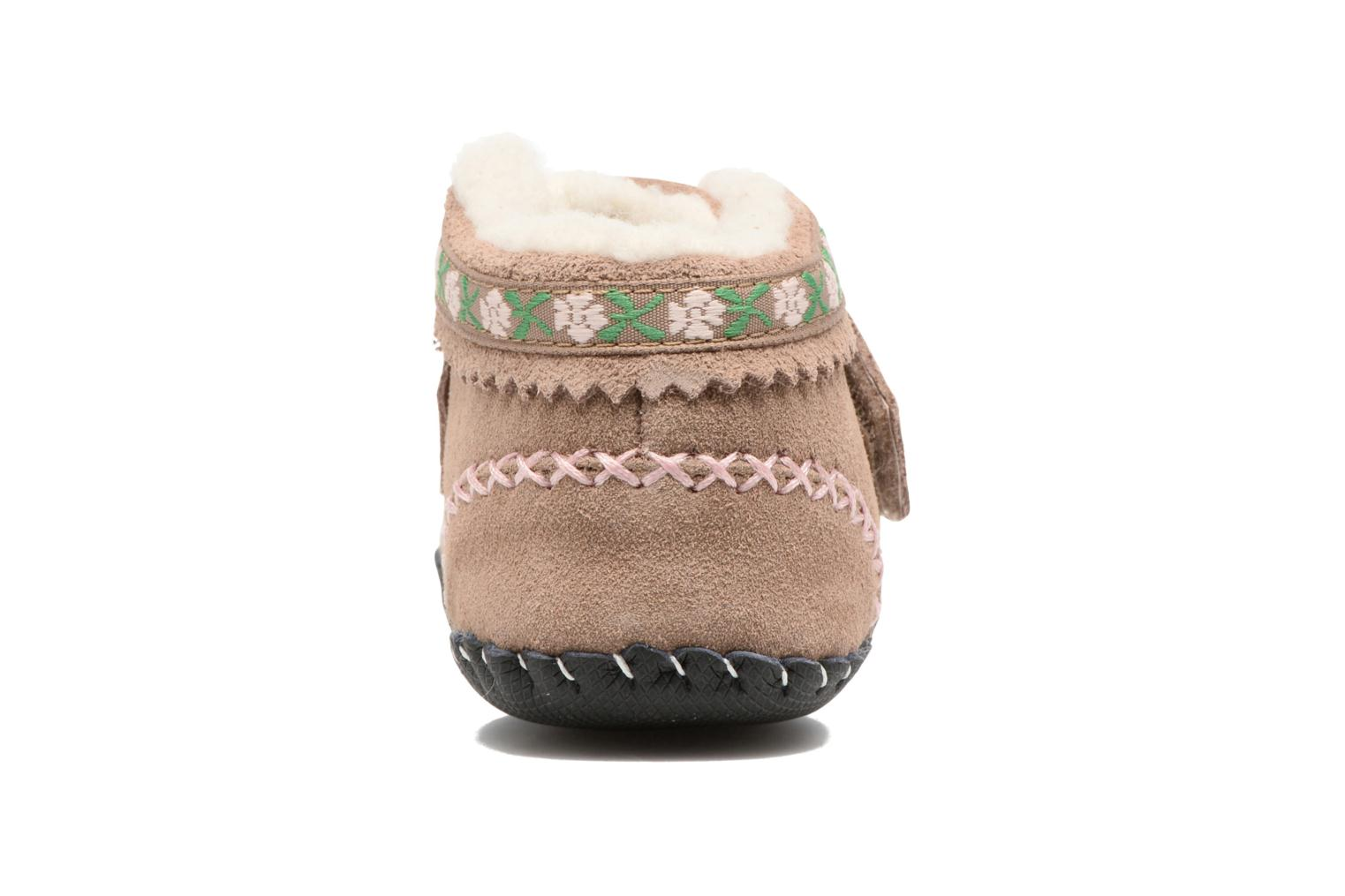 Slippers Pediped Rosa Beige view from the right