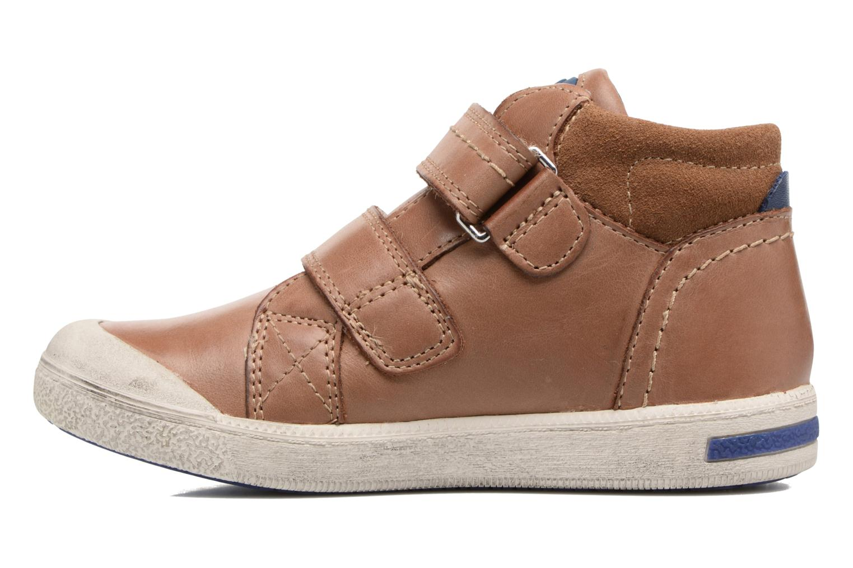 Sneakers Noël Yuan ST Marrone immagine frontale
