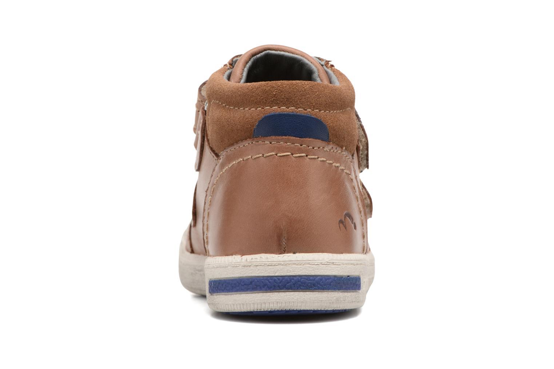 Sneakers Noël Yuan ST Marrone immagine destra