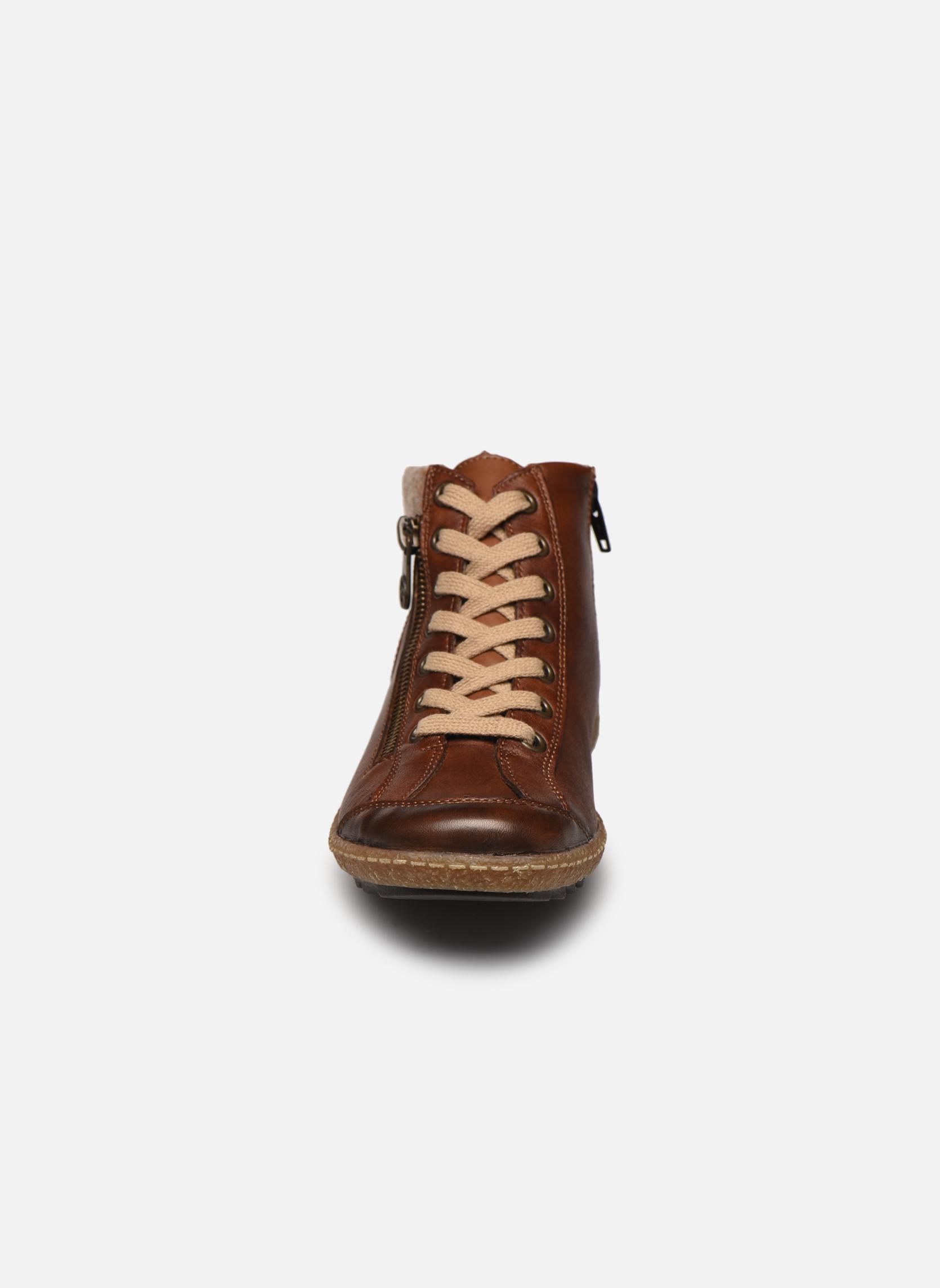 Baskets Remonte Paola R4775 Marron vue portées chaussures