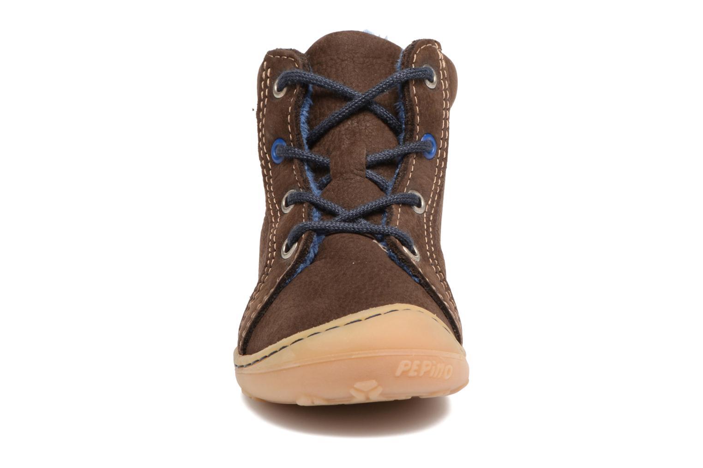 Bottines et boots PEPINO Georgy Marron vue portées chaussures