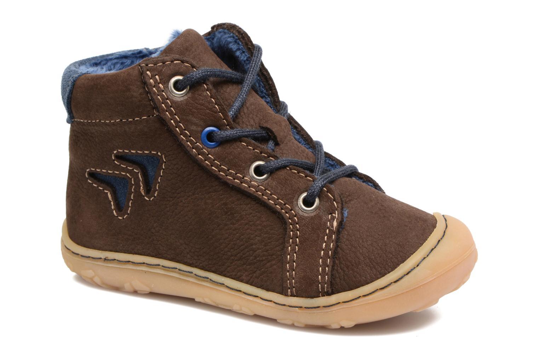 Bottines et boots PEPINO Georgy Marron vue détail/paire