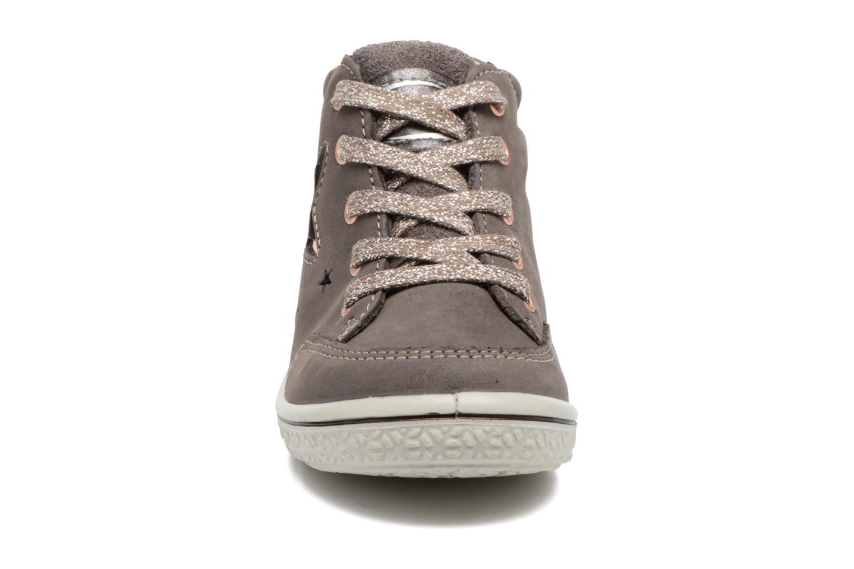 Baskets PEPINO Sinja Gris vue portées chaussures