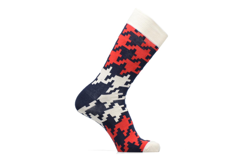Chaussettes et collants Happy Socks Dogtooth Rouge vue détail/paire