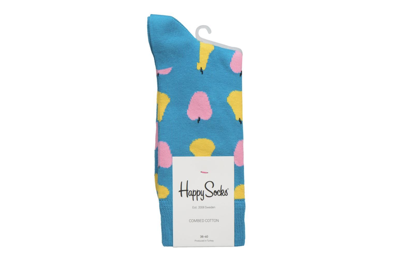 Chaussettes et collants Happy Socks Fruits Bleu vue derrière