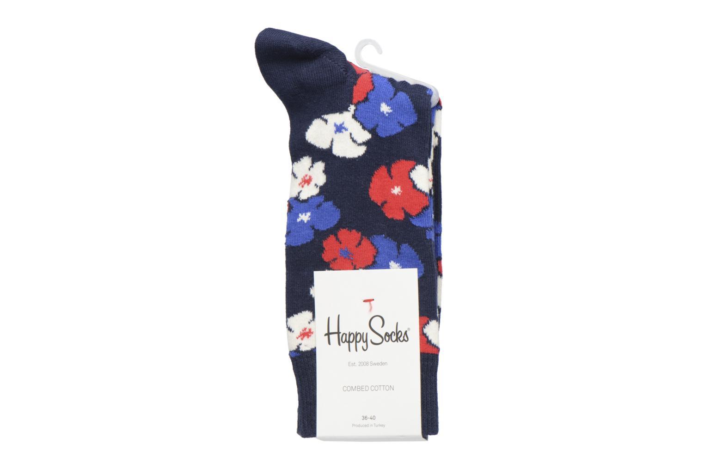 Sokken en panty's Happy Socks Kimono Blauw achterkant