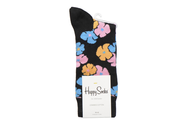 Chaussettes et collants Happy Socks Kimono Noir vue derrière