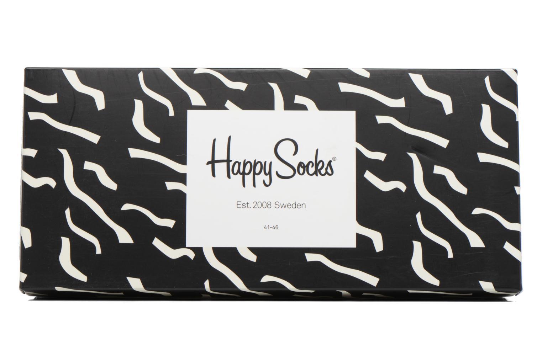 Chaussettes et collants Happy Socks Gift Box Black White Lot de 4 Noir vue gauche