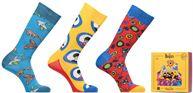 Happy Socks x The Beatles Lot de 3