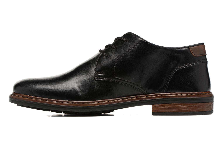 Chaussures à lacets Rieker Sami 17613 Noir vue face