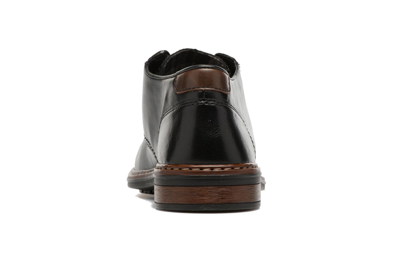 Chaussures à lacets Rieker Sami 17613 Noir vue droite