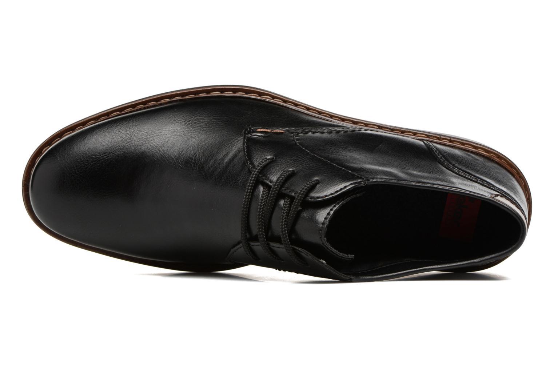 Chaussures à lacets Rieker Sami 17613 Noir vue gauche