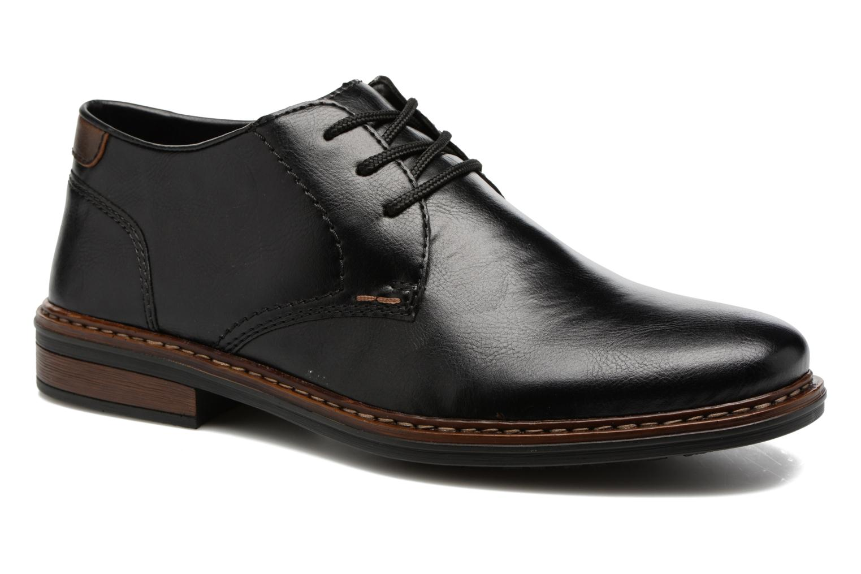 Chaussures à lacets Rieker Sami 17613 Noir vue détail/paire