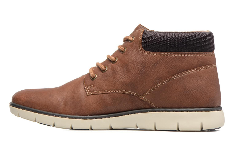 Bottines et boots Rieker Freddy 37520 Marron vue face