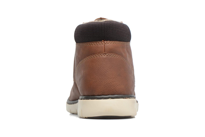 Bottines et boots Rieker Freddy 37520 Marron vue droite