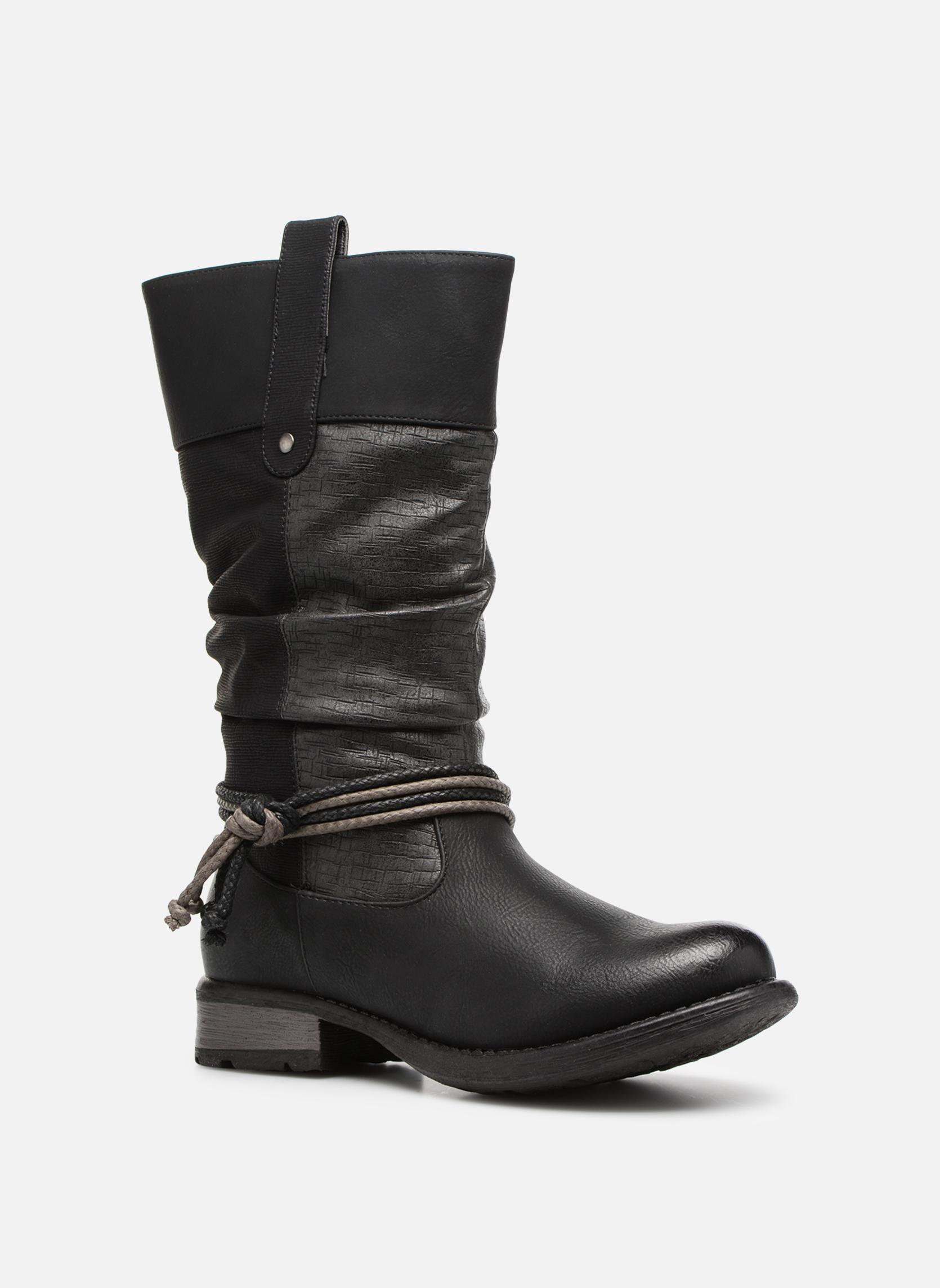 Grandes descuentos últimos zapatos Rieker Muriel 97279 (Negro) - Botas Descuento
