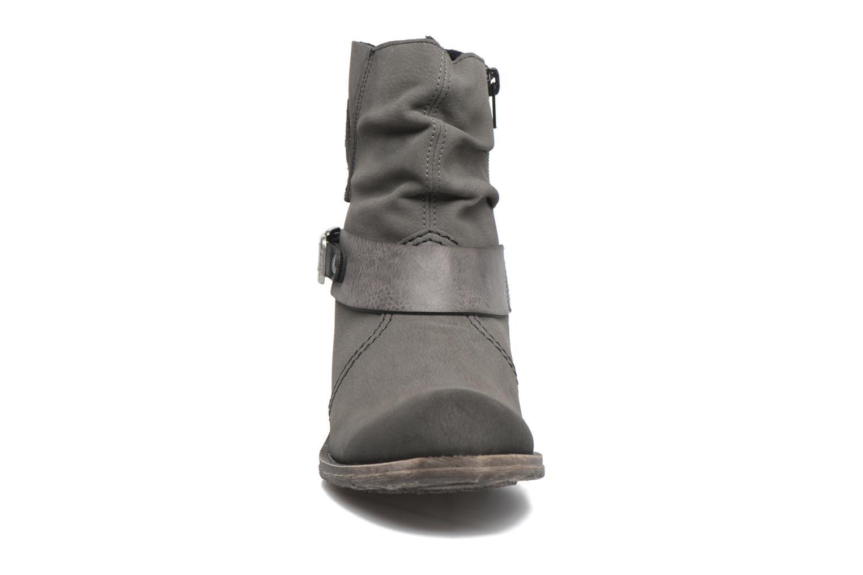 Bottines et boots Rieker Ninon 74725 Gris vue portées chaussures