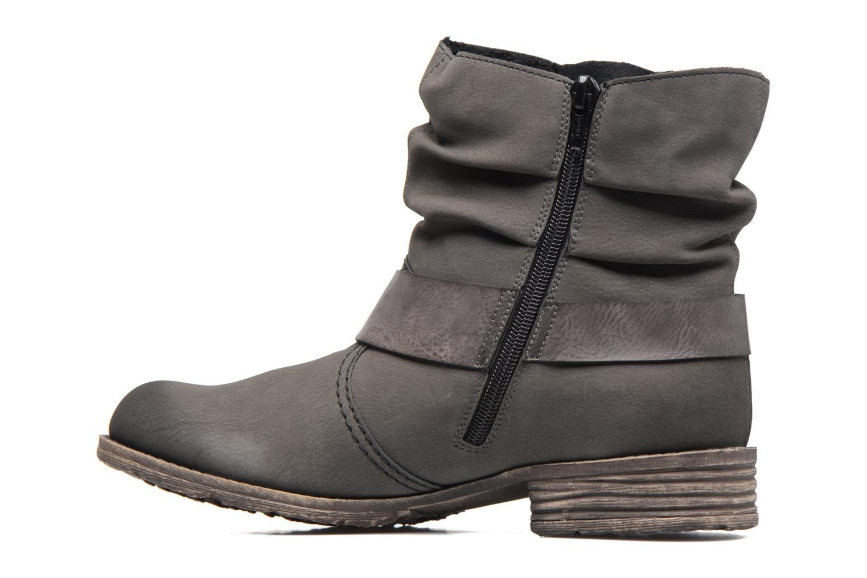 Boots en enkellaarsjes Rieker Ninon 74725 Grijs voorkant