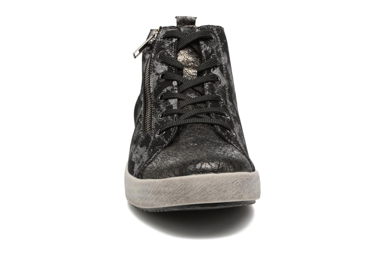 Baskets Rieker Donna K5272 Noir vue portées chaussures