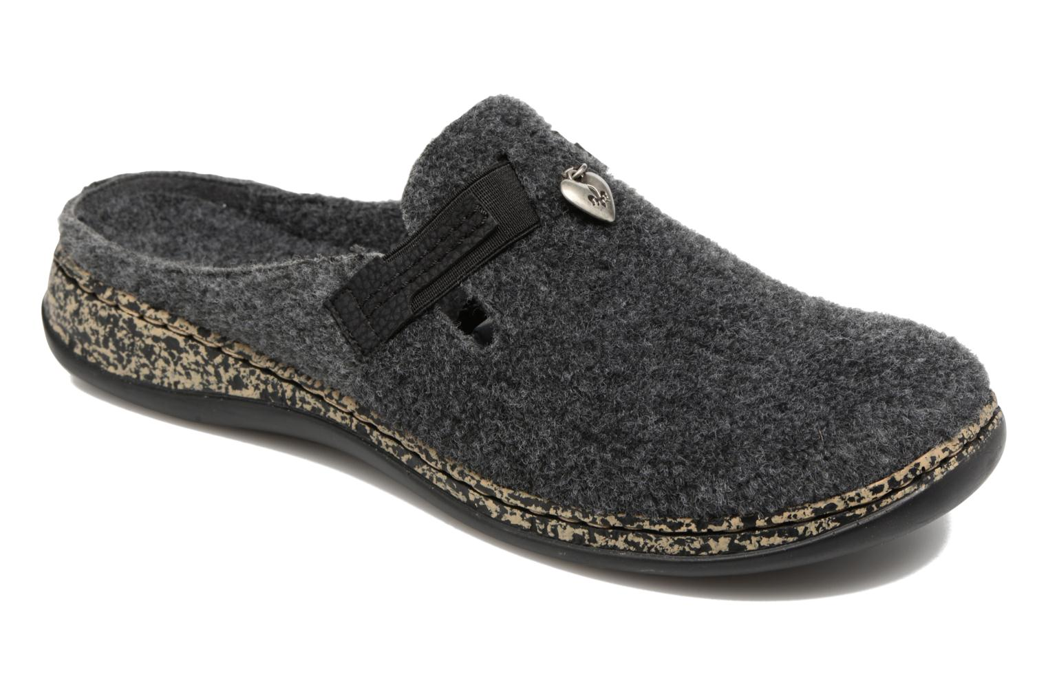 Chaussons Gris Rieker uaeP4g5G9