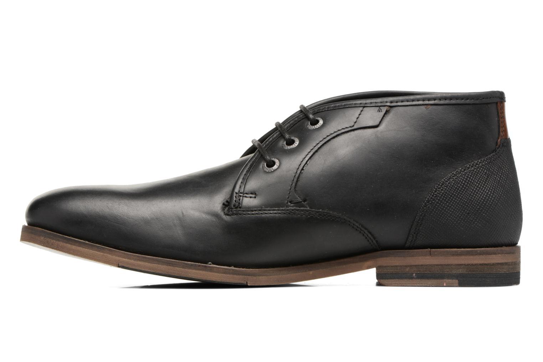 Zapatos con cordones Redskins Alerte Negro vista de frente