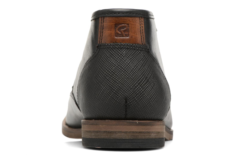 Zapatos con cordones Redskins Alerte Negro vista lateral derecha