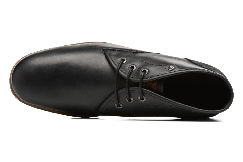 Zapatos con cordones Redskins Alerte Negro vista lateral izquierda