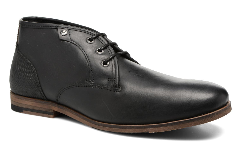 Zapatos con cordones Redskins Alerte Negro vista de detalle / par