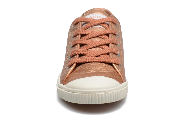 Baskets Pataugas BOOS/BOUTCHOU/M Or et bronze vue portées chaussures