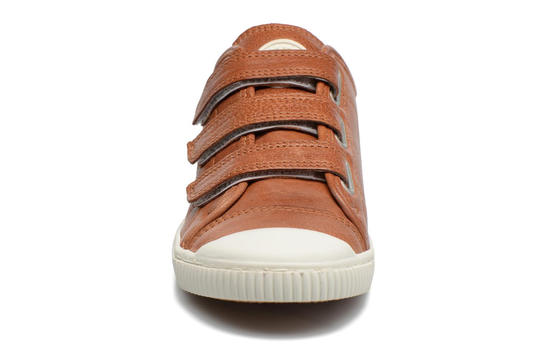 Baskets Pataugas BOOST/BISTROT_4 Marron vue portées chaussures