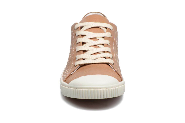 Baskets Pataugas Budy Marron vue portées chaussures