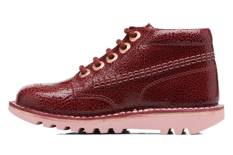 leather Hi Kick Kickers Lthr Burgundy wIFYBTq