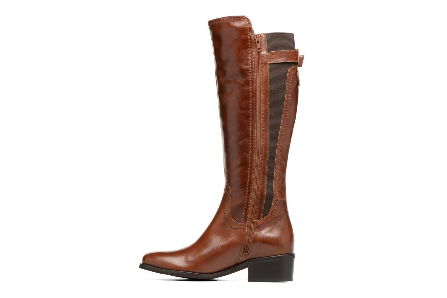 Boots & wellies Georgia Rose Lacav Brown front view