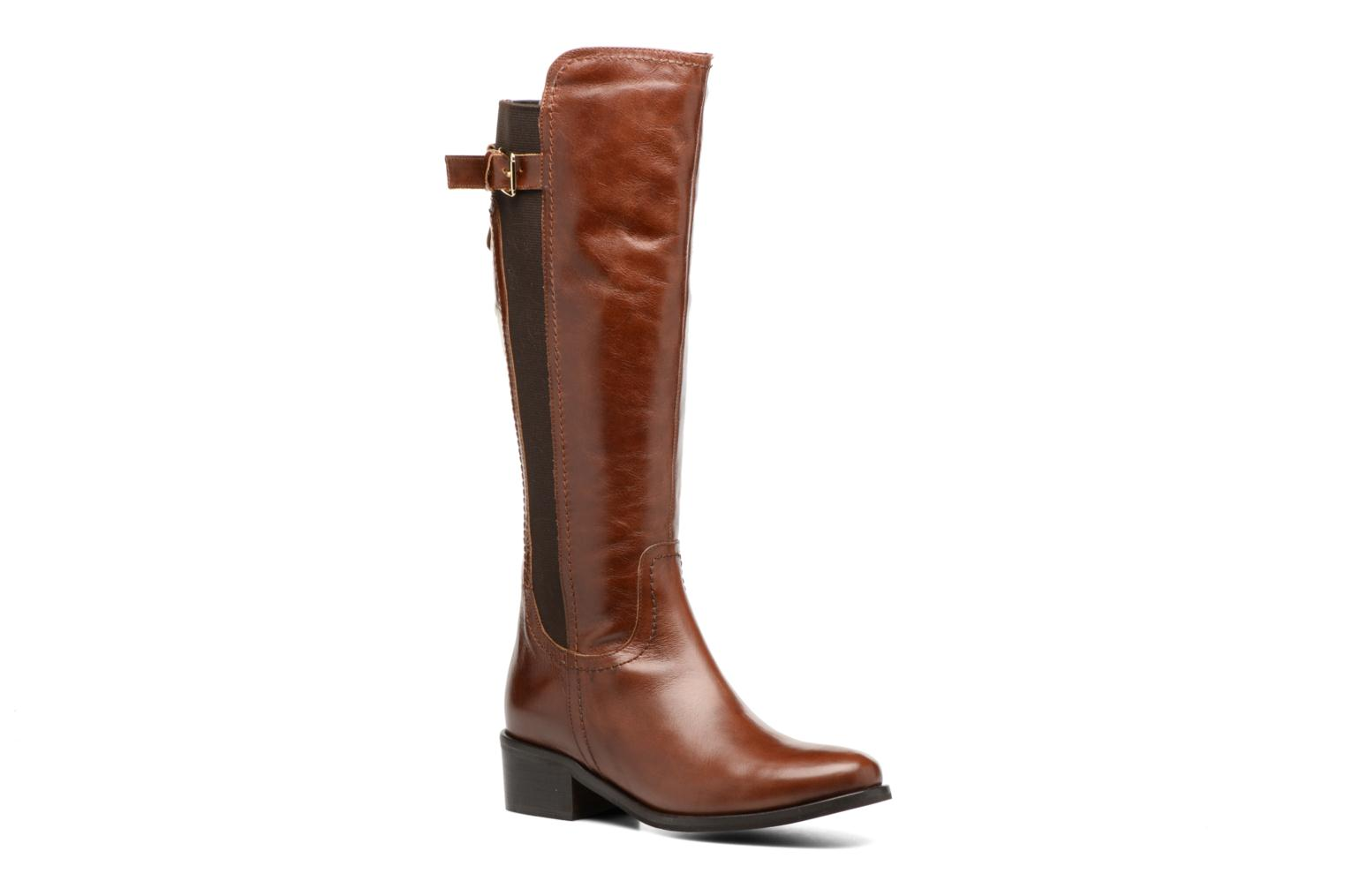 Boots & wellies Georgia Rose Lacav Brown detailed view/ Pair view