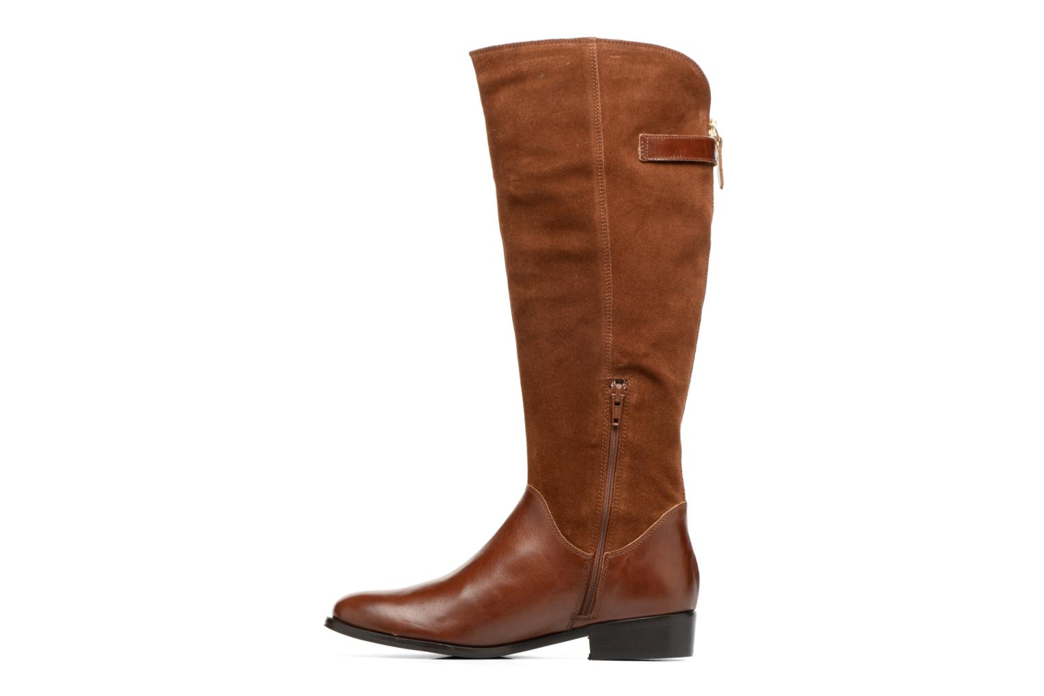 Boots & wellies Georgia Rose Loupy Brown front view