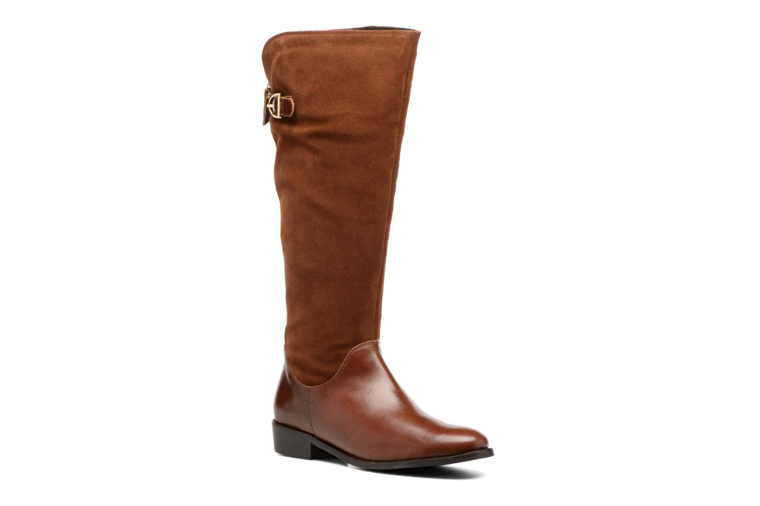 Boots & wellies Georgia Rose Loupy Brown detailed view/ Pair view