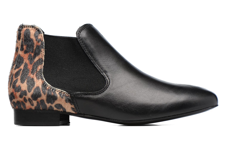 Ankle boots Georgia Rose Lavole Black back view
