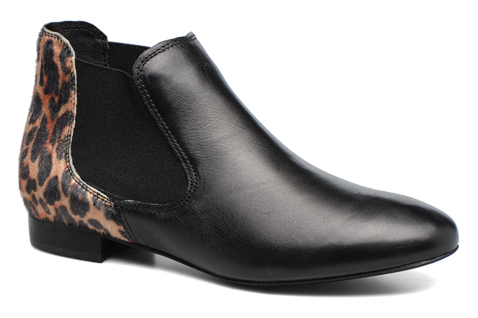 Ankle boots Georgia Rose Lavole Black detailed view/ Pair view