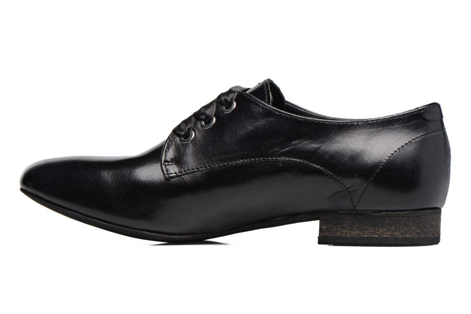 Lace-up shoes Georgia Rose Lisy Black front view