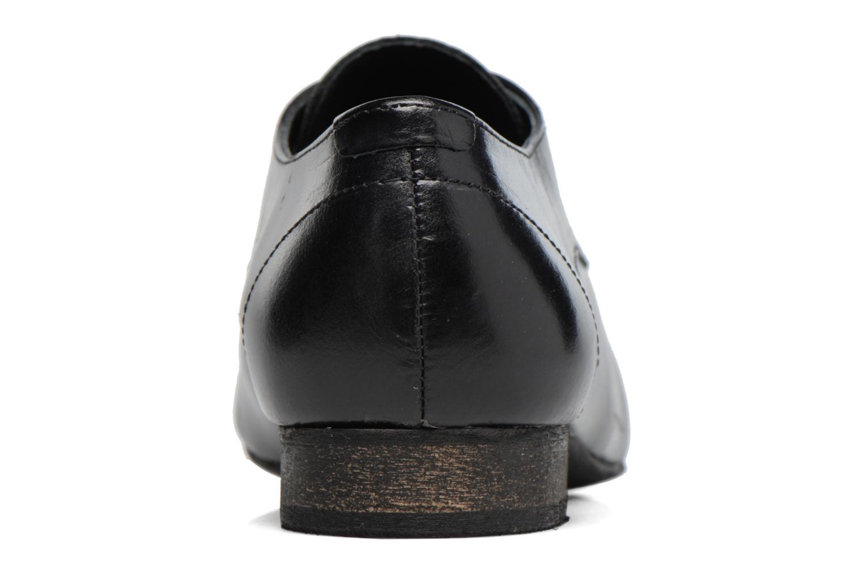 Chaussures à lacets Georgia Rose Lisy Noir vue droite