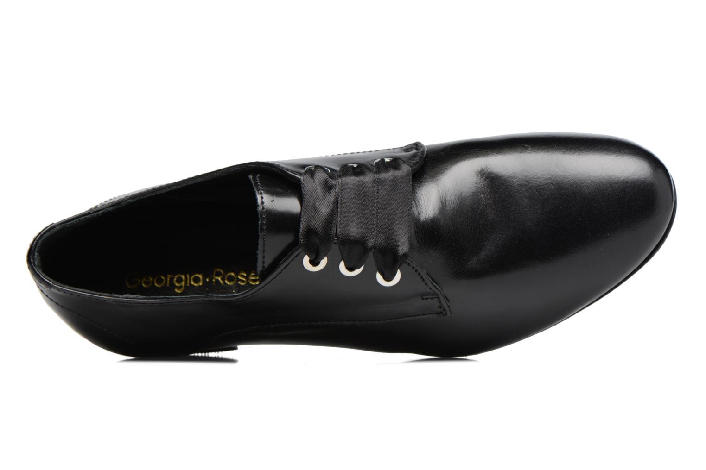 Chaussures à lacets Georgia Rose Lisy Noir vue gauche