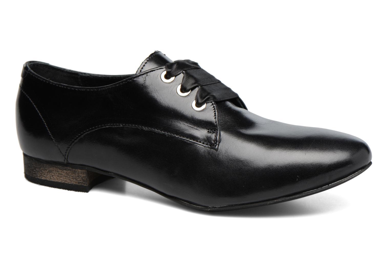 Chaussures à lacets Georgia Rose Lisy Noir vue détail/paire